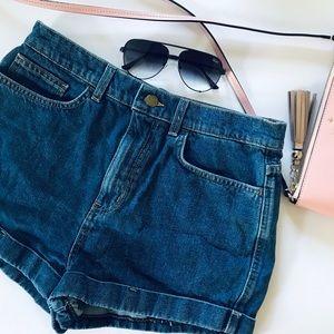 American Apparel Jean Shorts 29